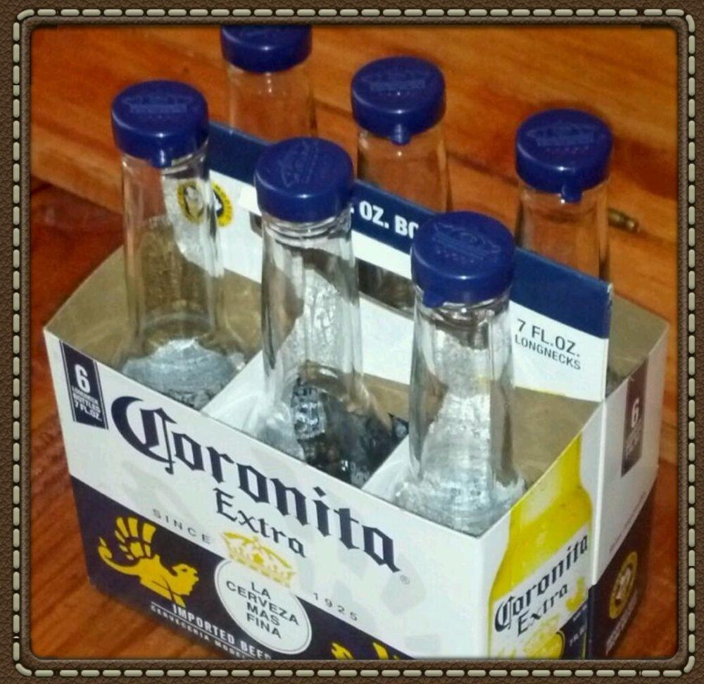 Corona Salt Pepper Glass Shakers Kitchen Bar