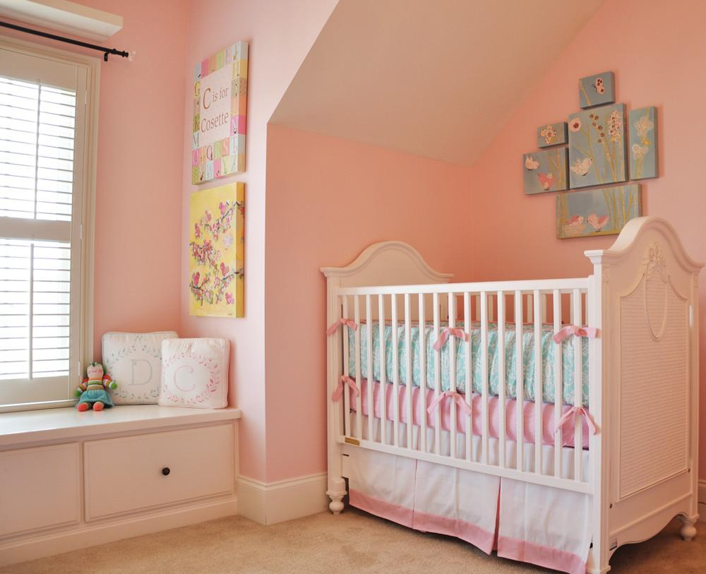 Cosette Delilah Shared Girls Room Project Nursery