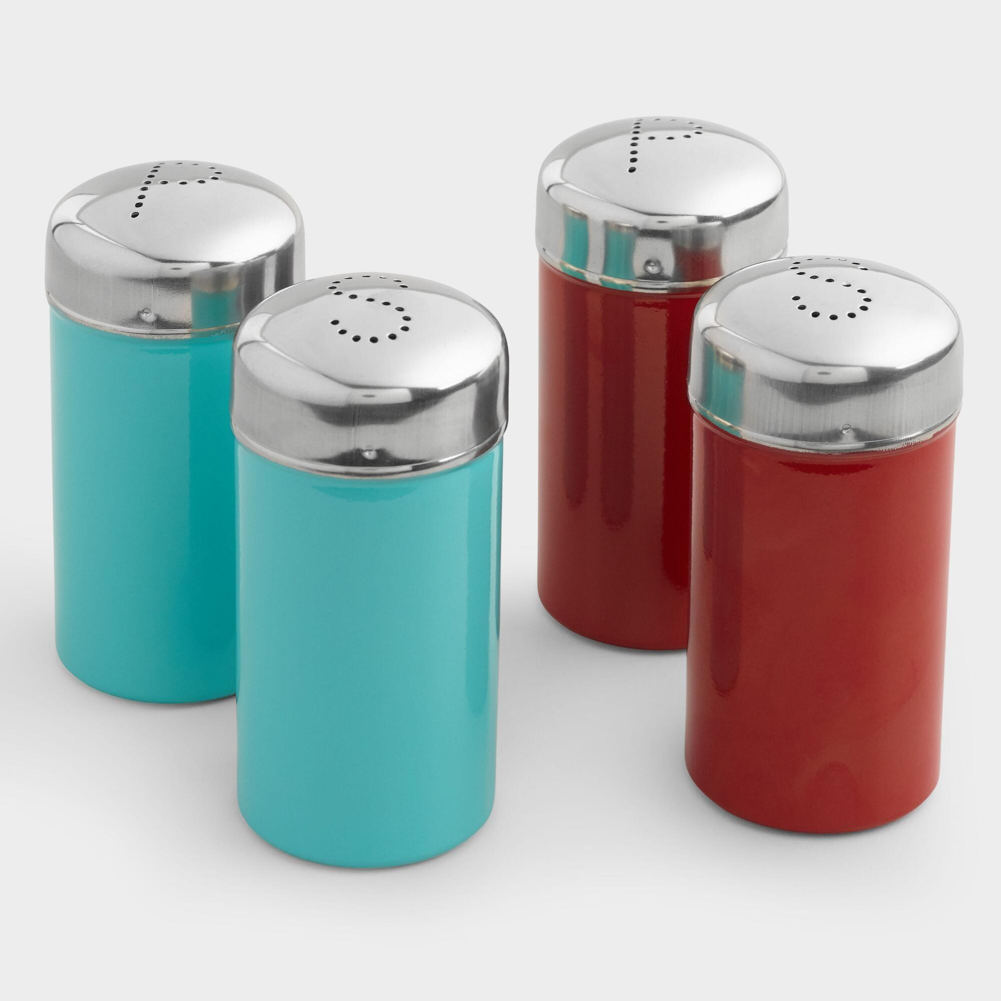 Cost Plus World Market Stainless Steel Salt Pepper