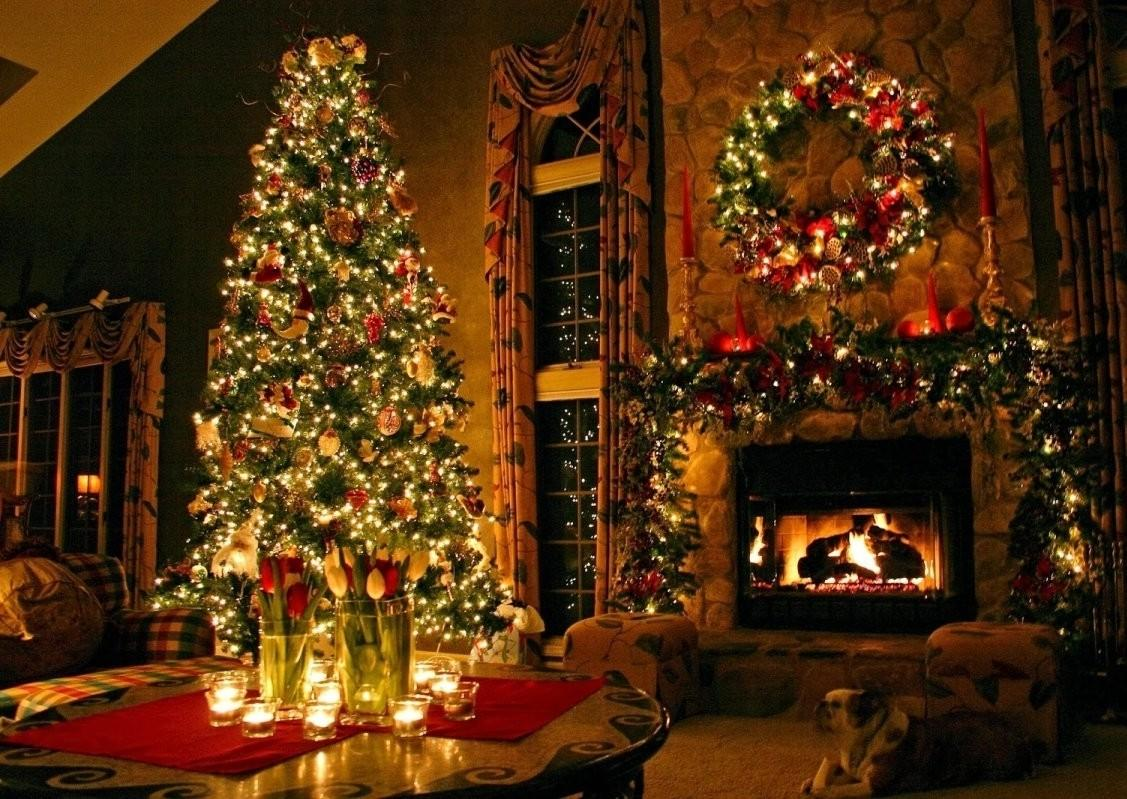 Cosy Christmas Living Room Give Your