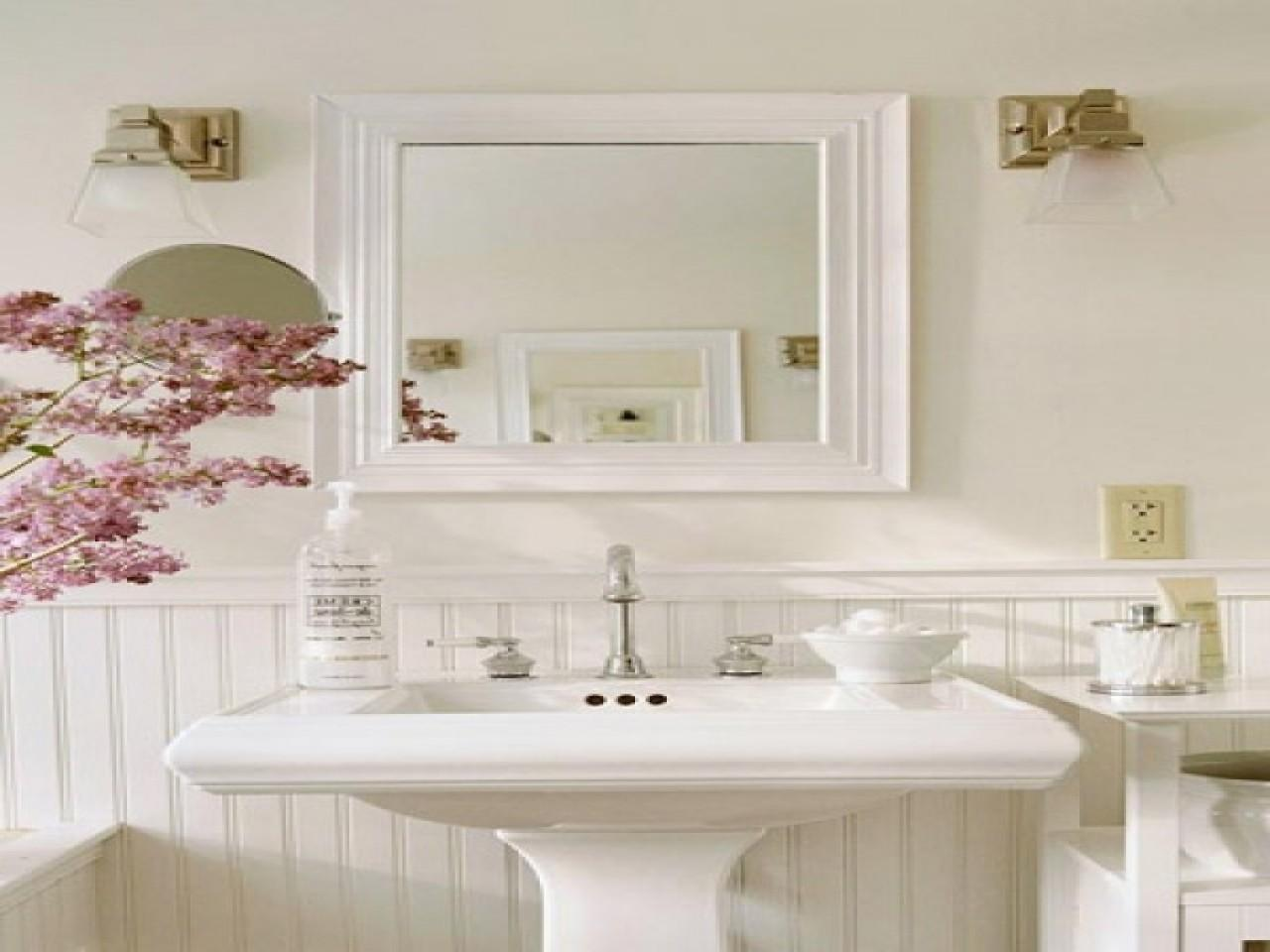Extra Long Desk Table, Wonderful French Country Bathroom Decor That Will Steal The Show Trends For 2020 Photo Gallery Decoratorist