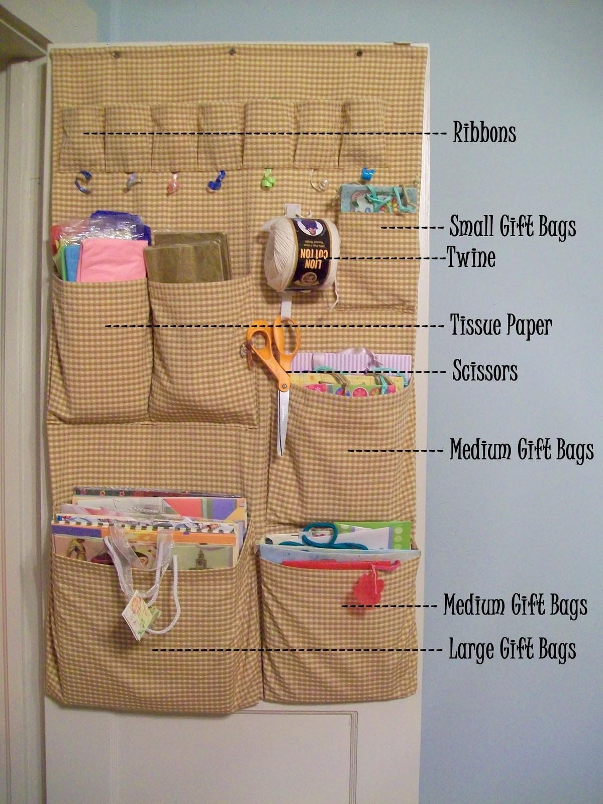 Cottage Hill Practical Matters Gift Bag Organizer