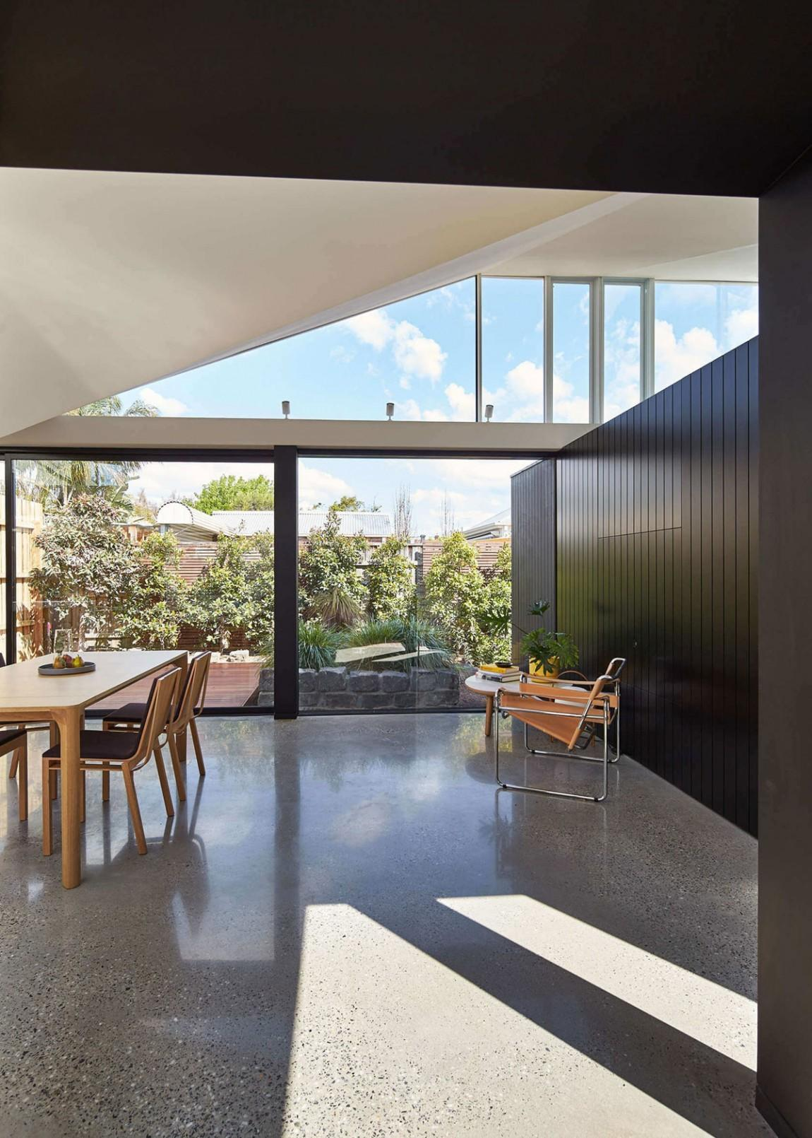 Cottage Renovation Hawthorn Connects Styles Spaces
