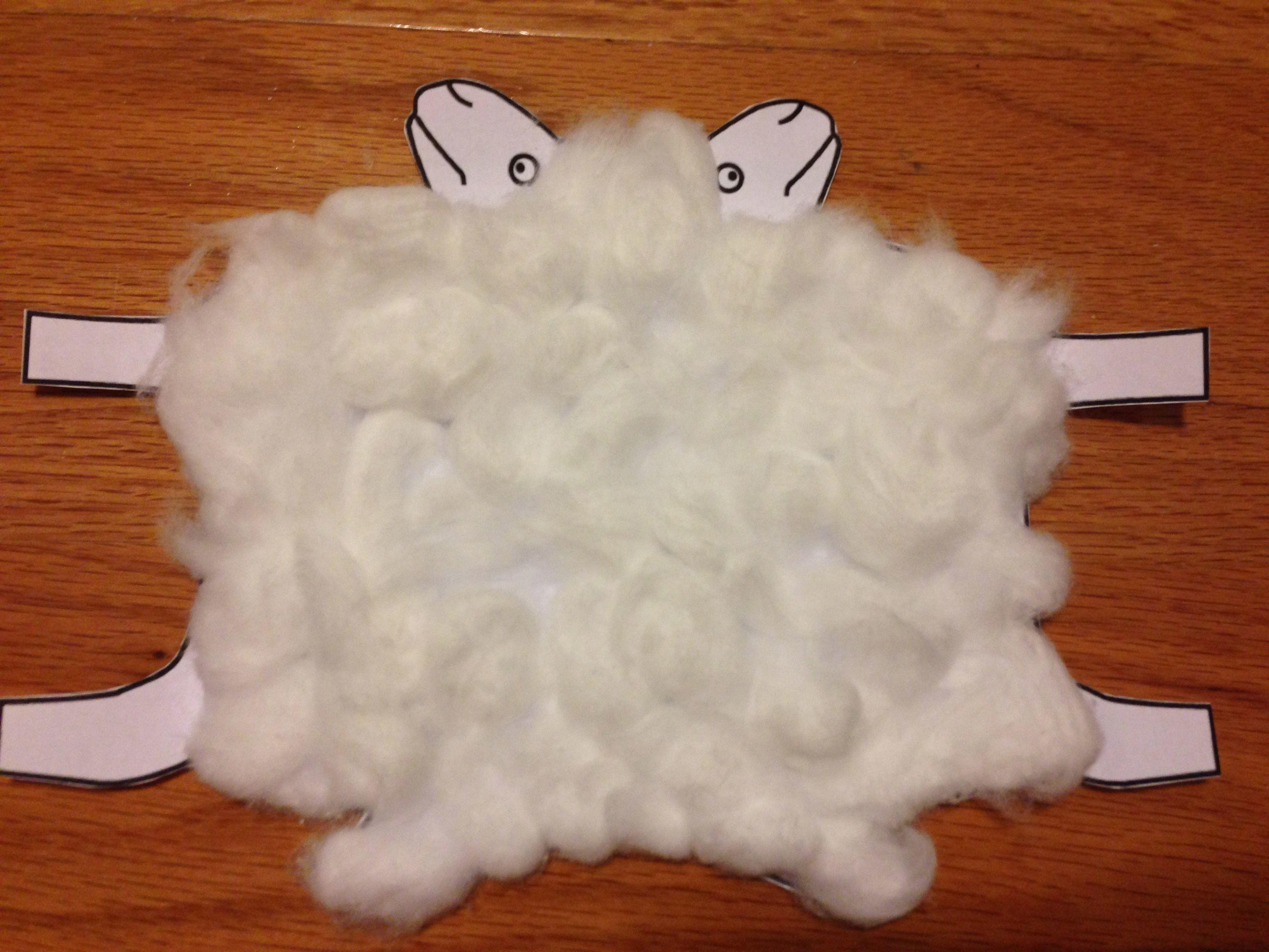 Cotton Ball Sheep Craft Kidz Activities
