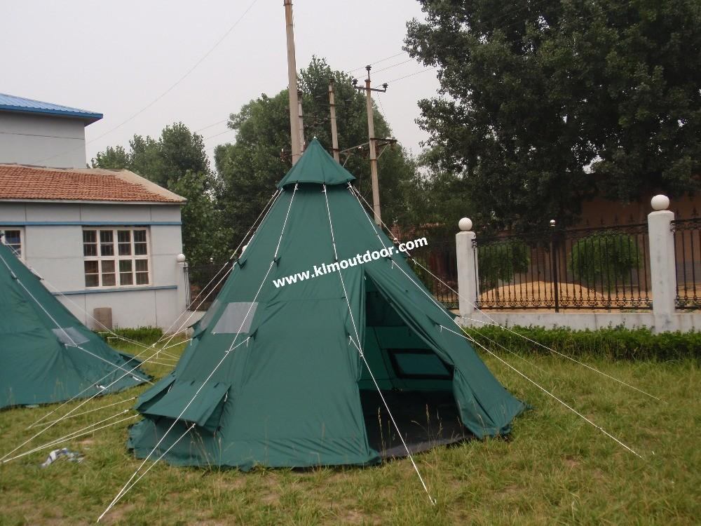 Cotton Canvas Tipi Tent Outdoor Teepee Indian