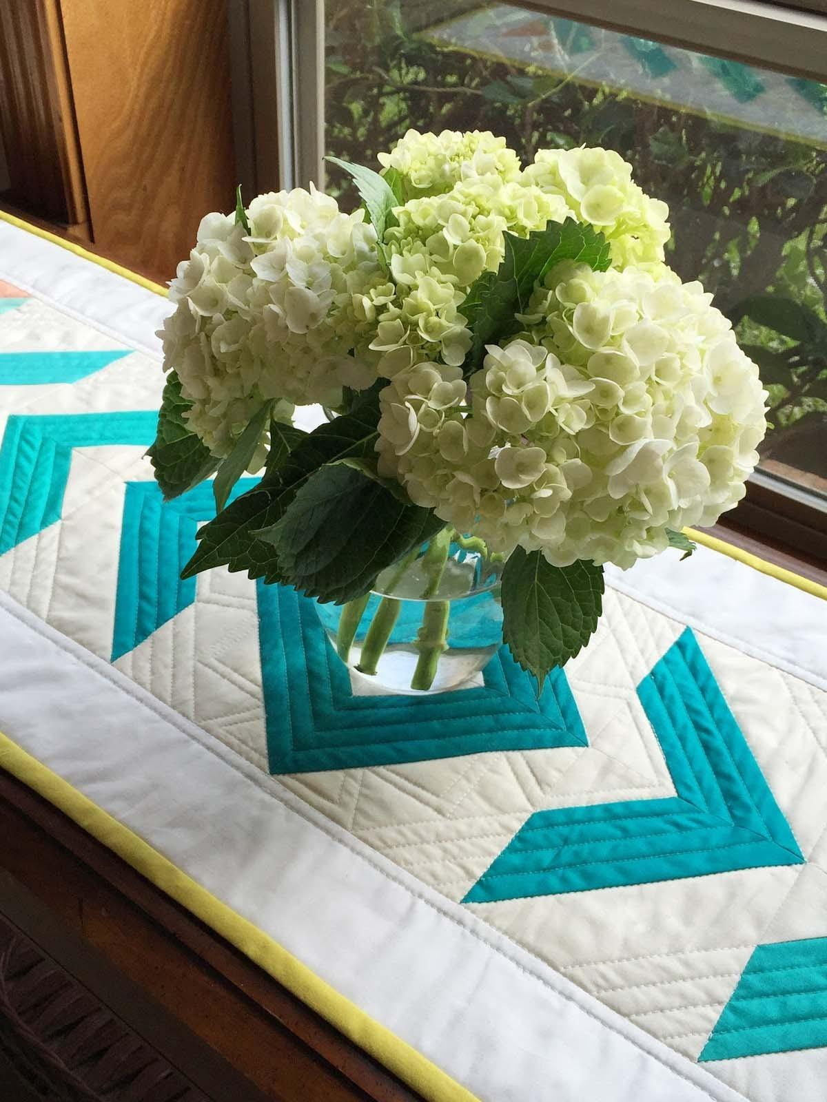 Cotton Couture Ombre Table Runner Patty Sloniger