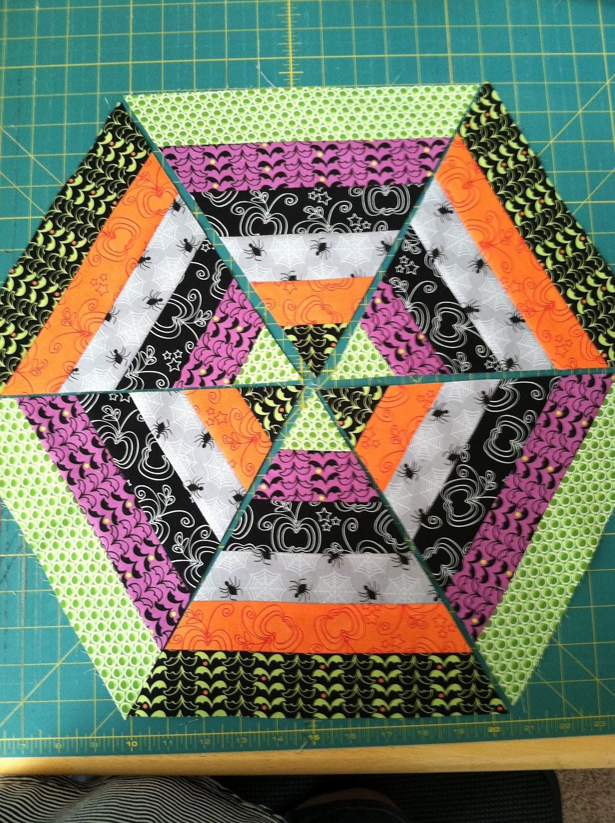 Cotton Creations Spider Web Table Topper Tutorial