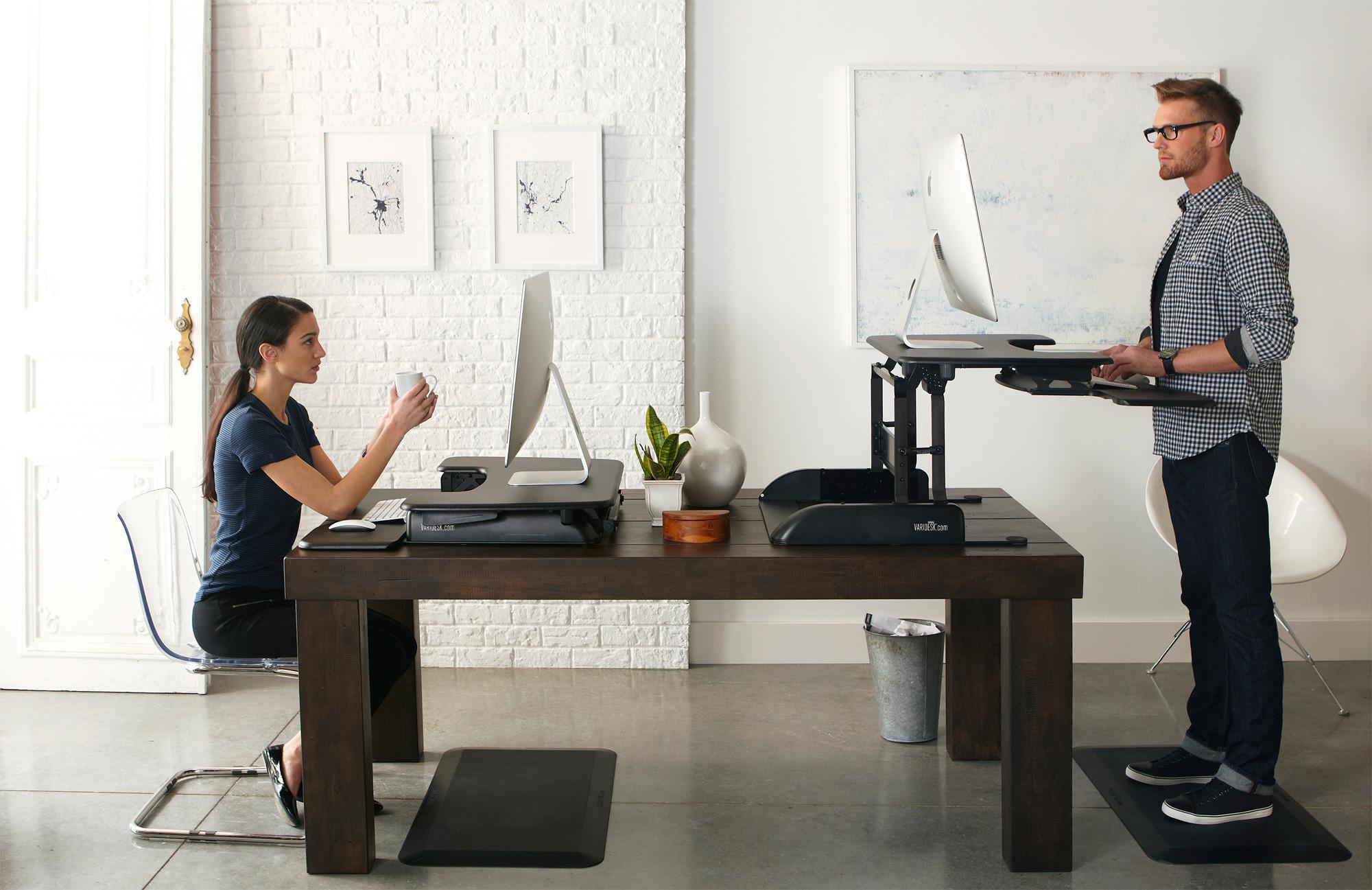 Could Varidesk Make One Fitter More Productive