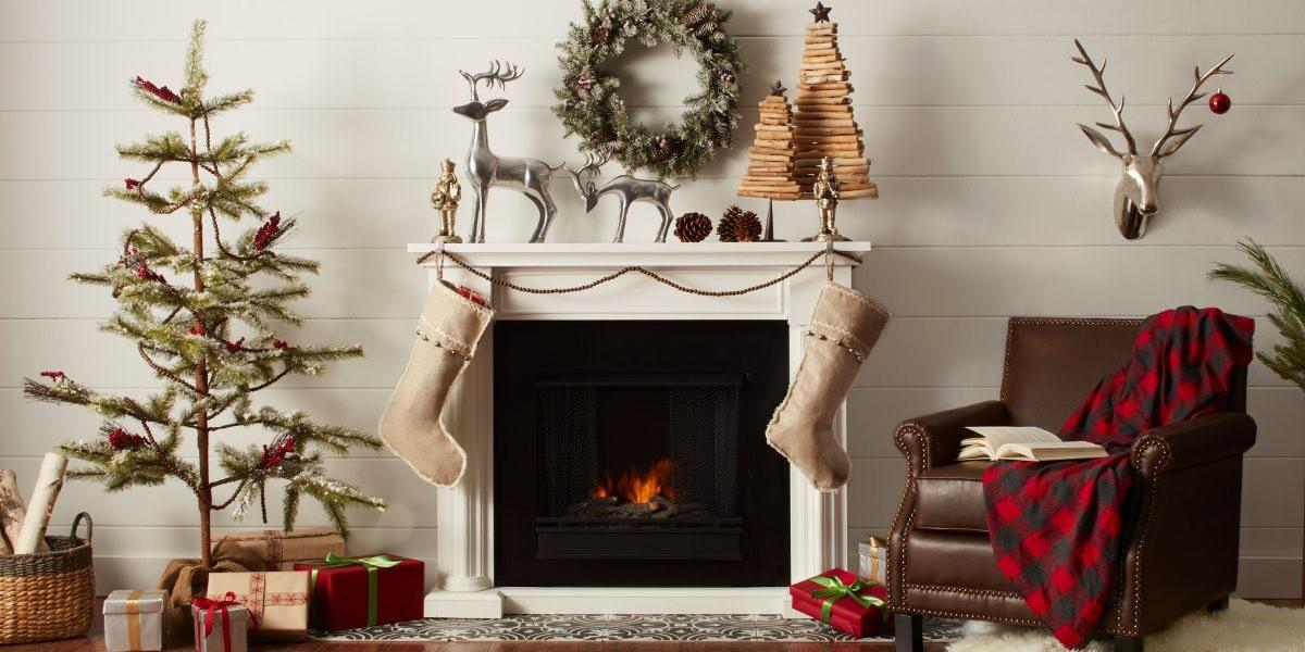 Country Chic Christmas Decorating Ideas Home