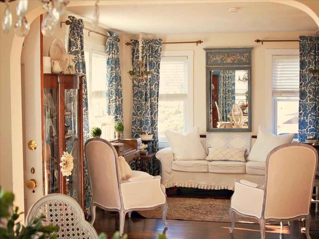 Country Chic Decor Gallant Shabby Living Room