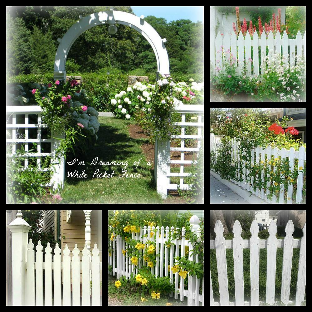 Country Farm Home Dreaming White Picket