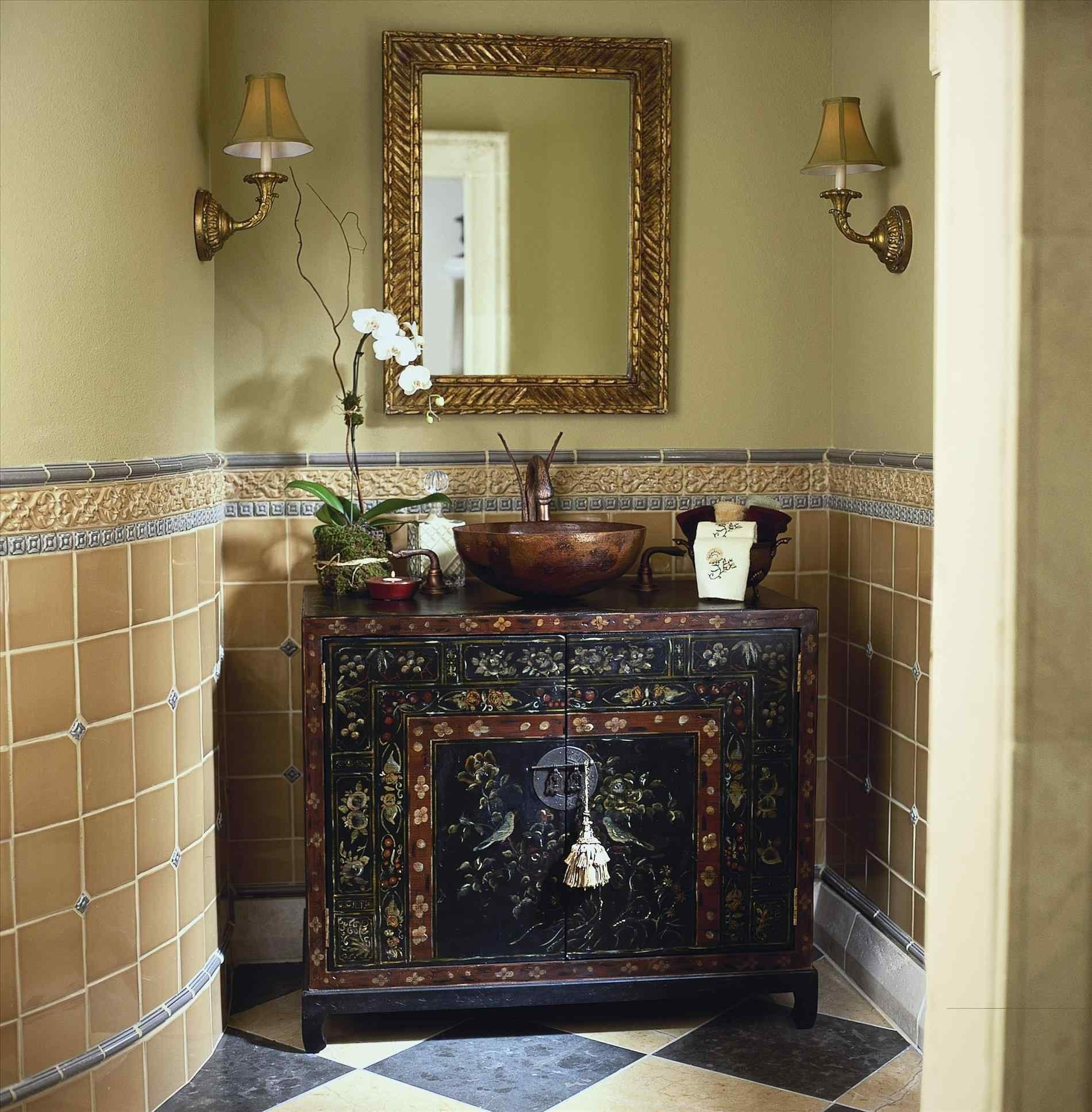 Country French Provincial Bathroom Ideas Decor Horizontal