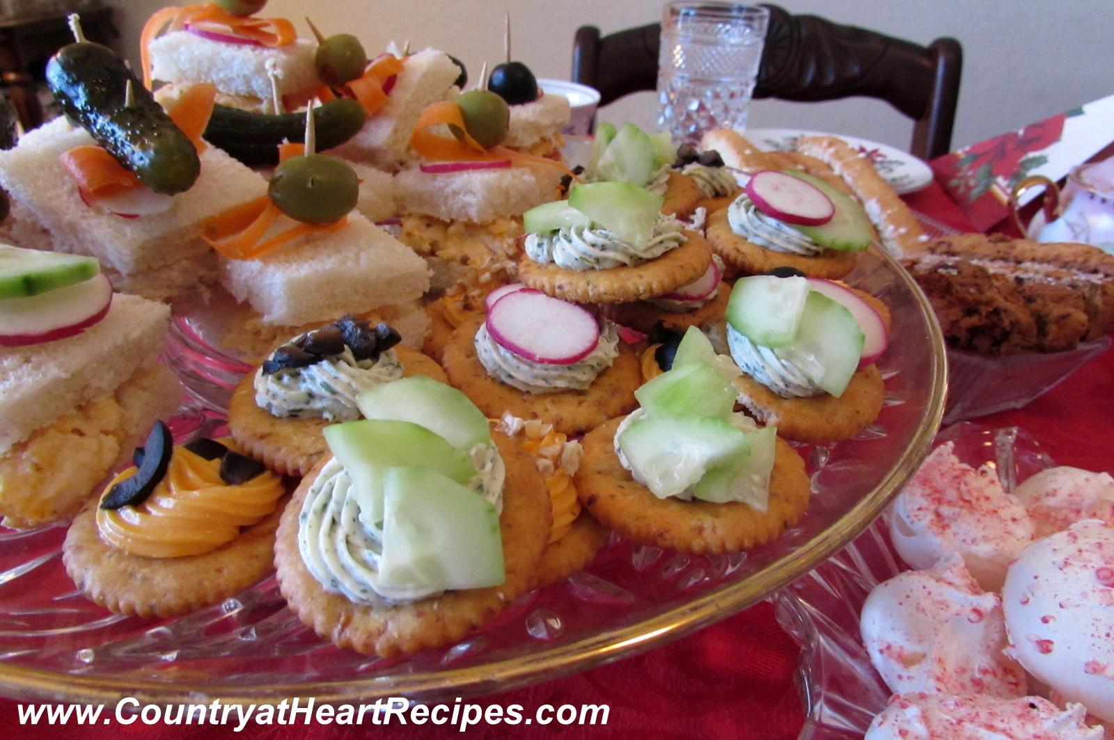 Country Heart Recipes Twelve Days Christmas Tea Party