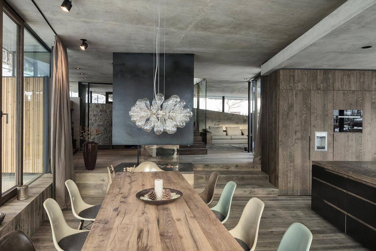 Country House Austrian Chalet Amazing Interior Made