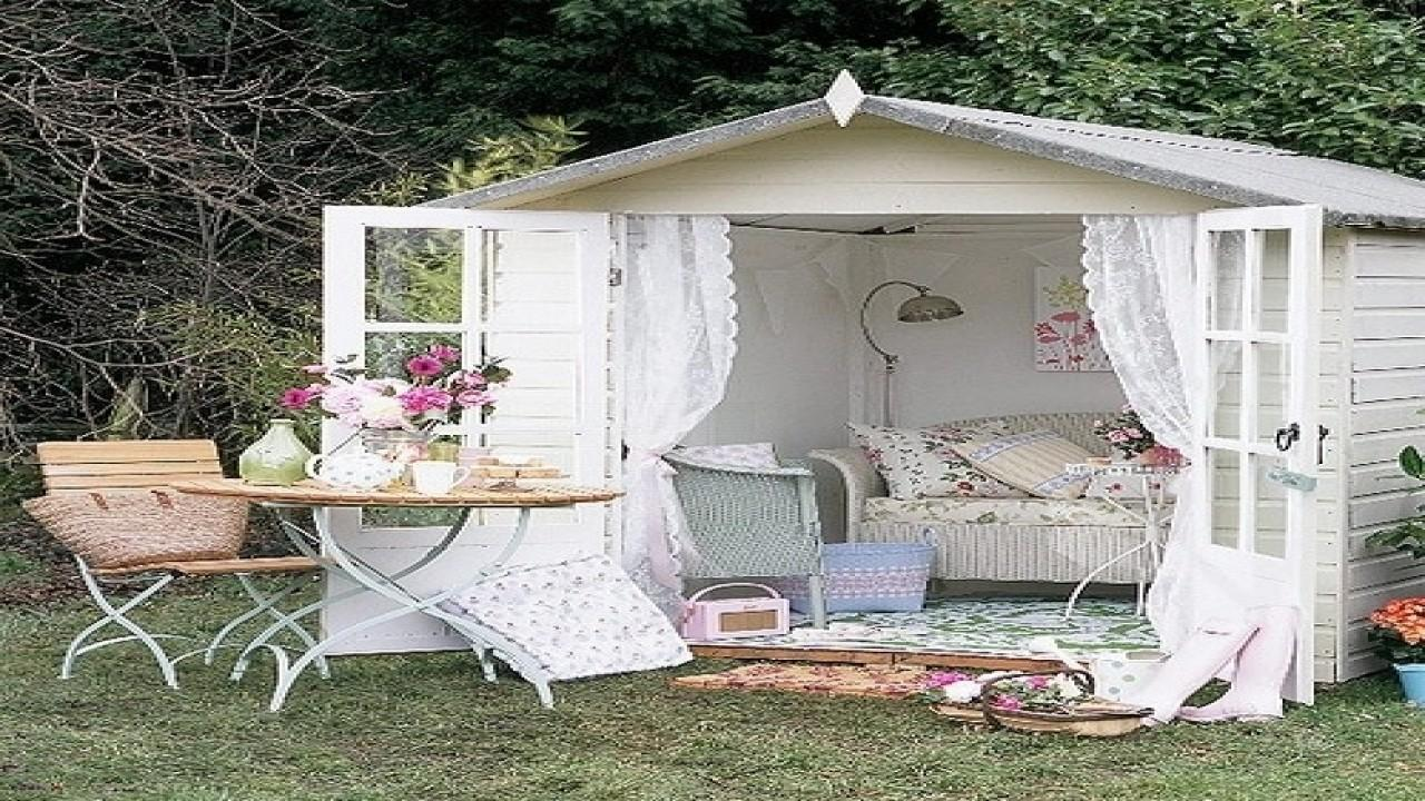 Country Office Decor Garden Shed Retreat Unique