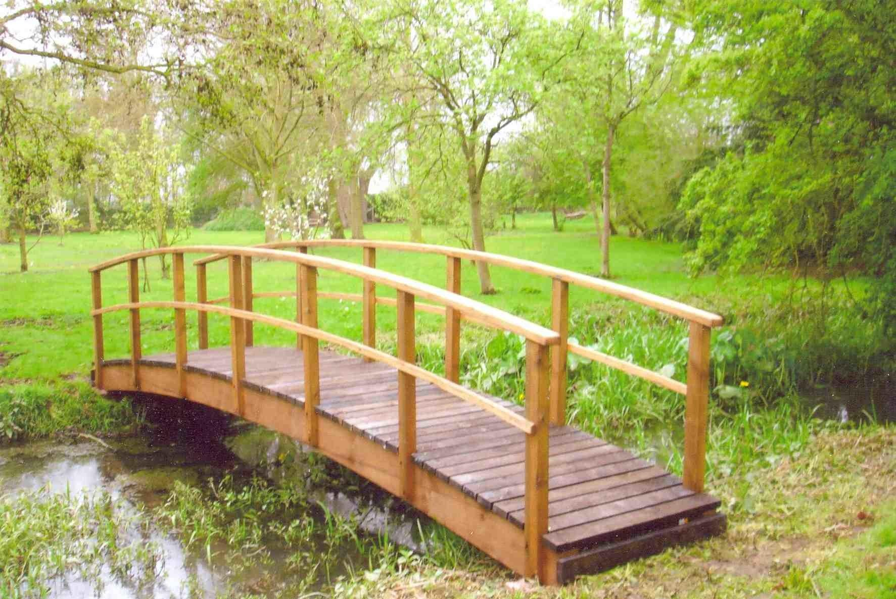 Country Style Garden Bridges Gardens