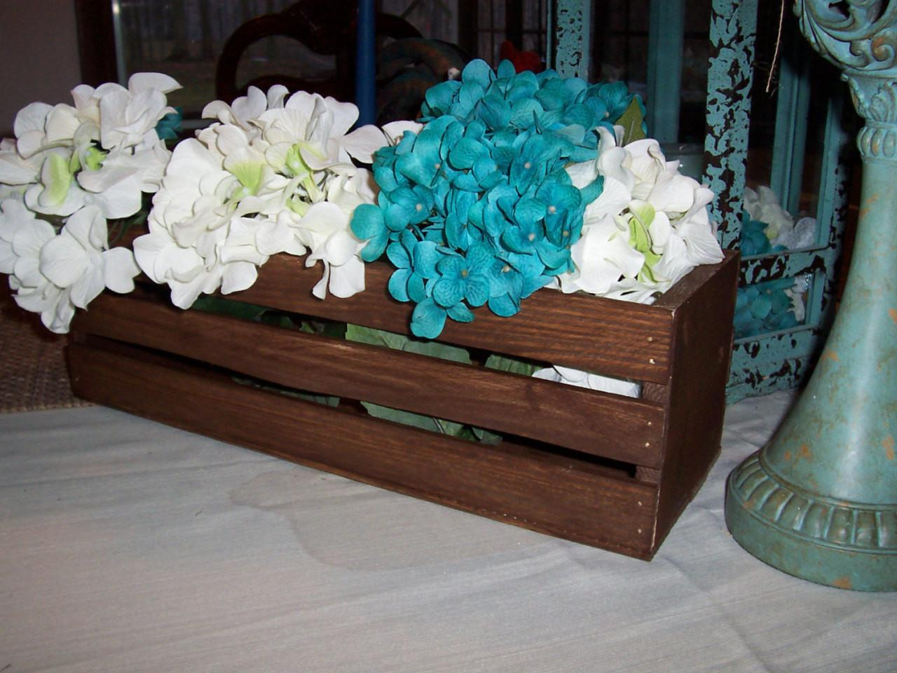 Country Vintage Weddings Wedding Crates Wooden