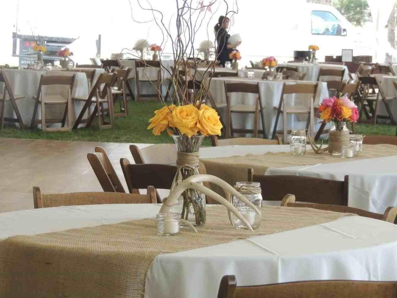 Country Wedding Reception Table Ideas Siudy
