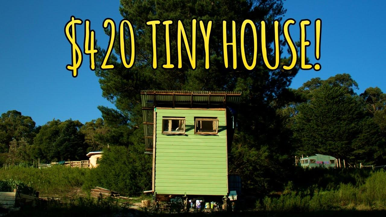 Couple Builds Tiny House Only 420