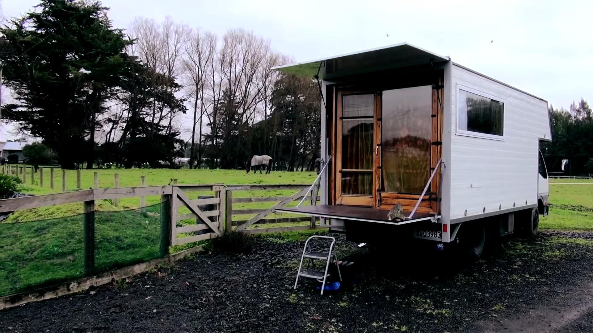 Couple Living Simply Diy Box Truck Tiny House
