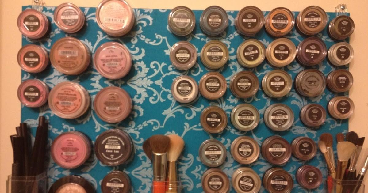 Couponing Mommy Diy Magnetic Makeup Board
