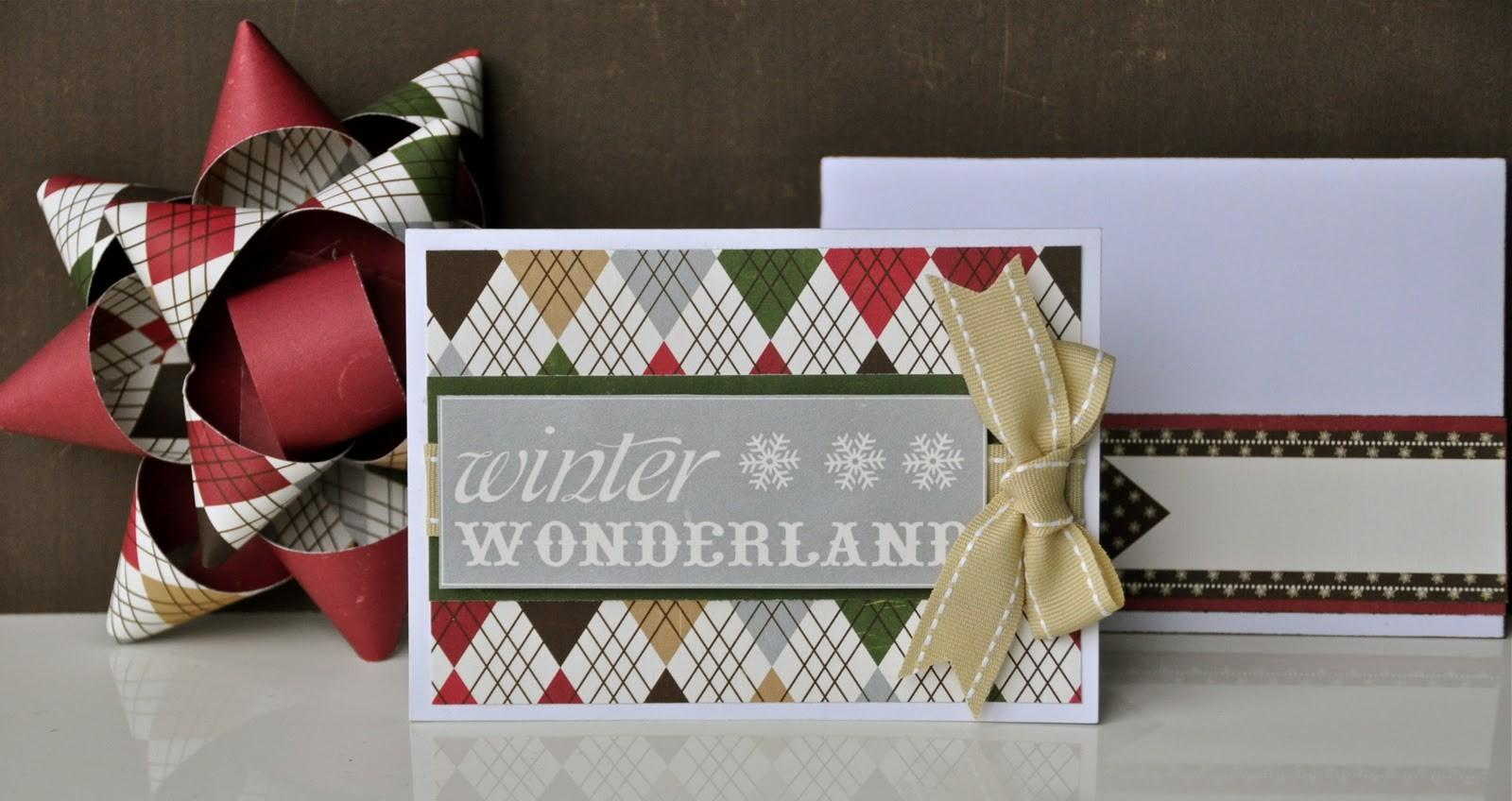Court Crafts Diy Christmas Bows Matching Tag Card Too