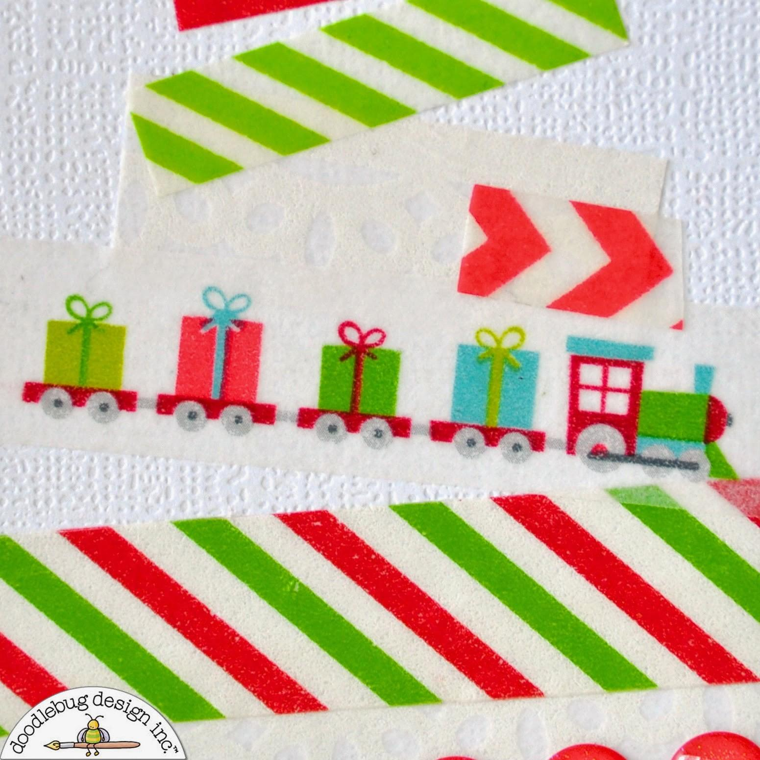 Court Crafts Washi Tape Christmas Trees