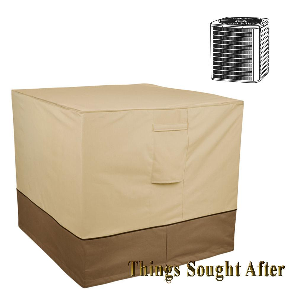 Cover Square Air Conditioner Outdoor Central Exterior
