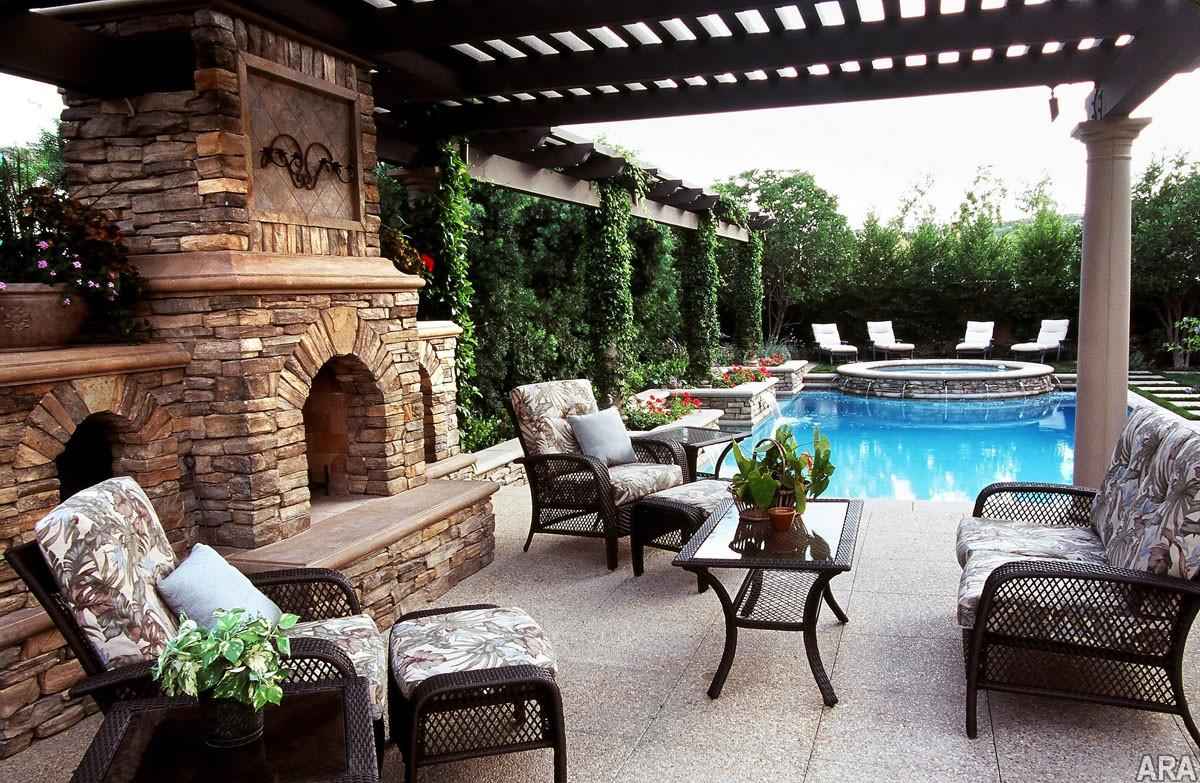 Covered Patio Designs Homes Find House Plans