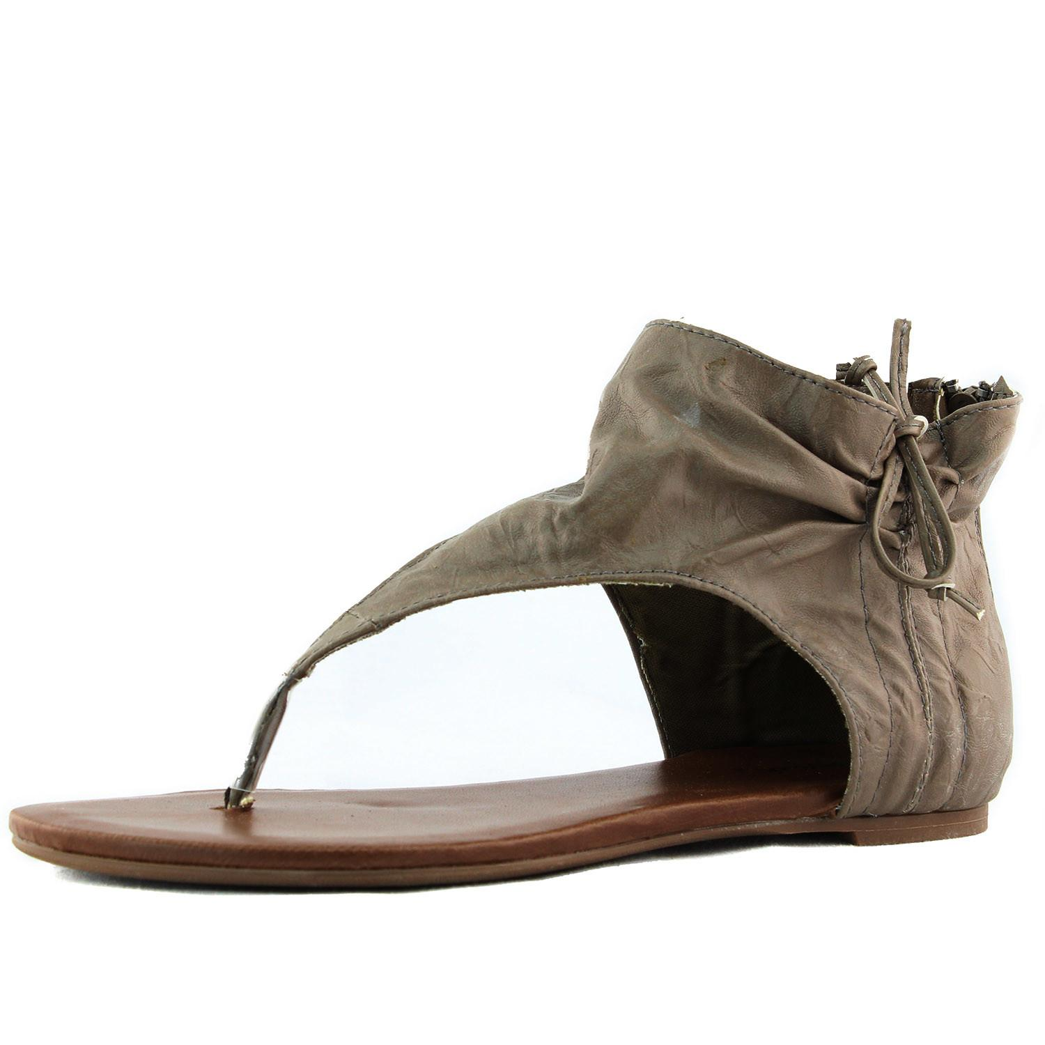 Covered Sandals Mens Fishermen Leather