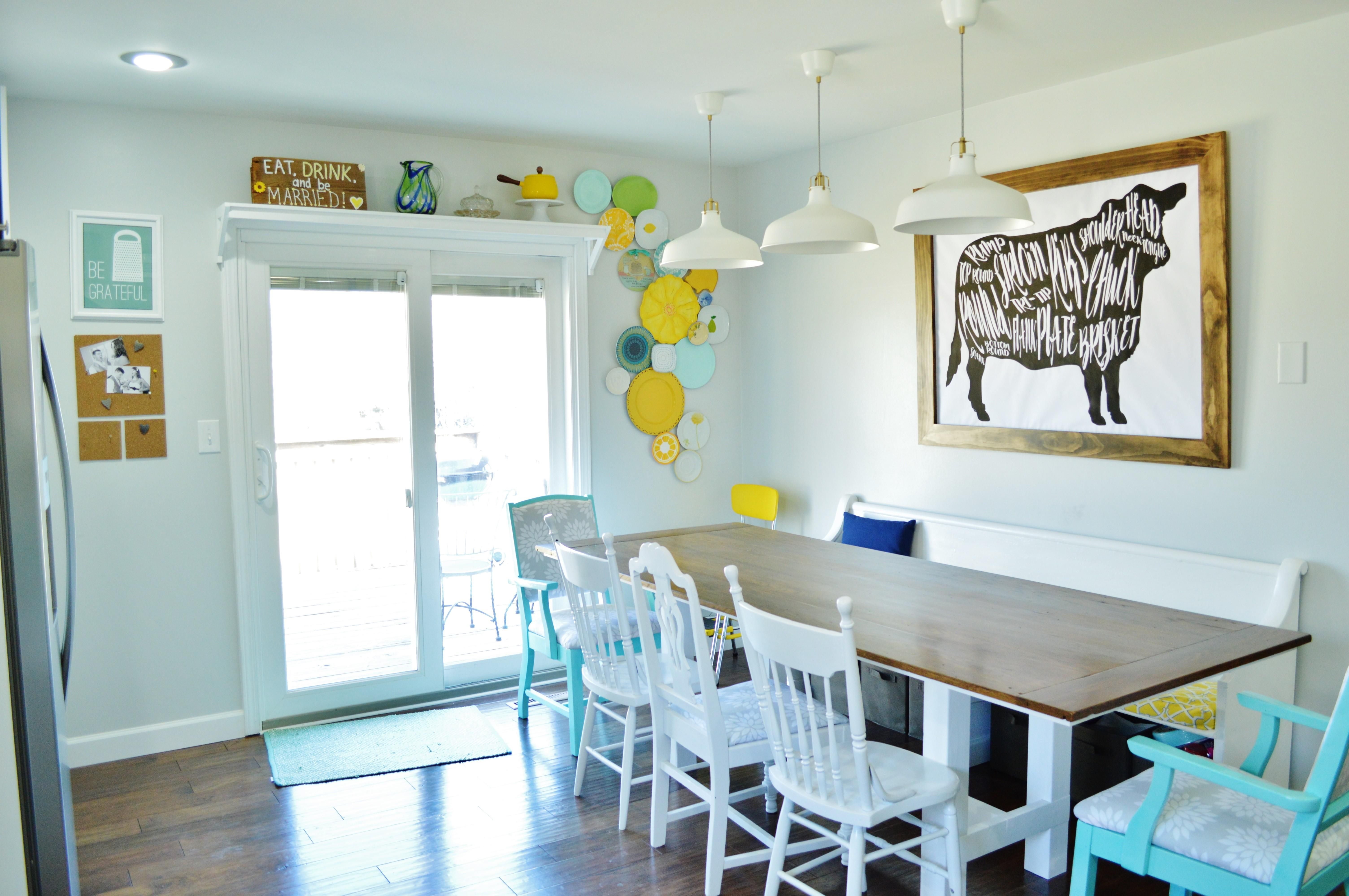 Cow Dining Room Wall