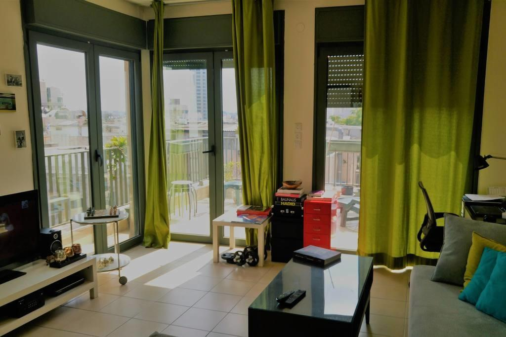 Cozy Apt Heart Tlv Apartments Rent Tel Aviv