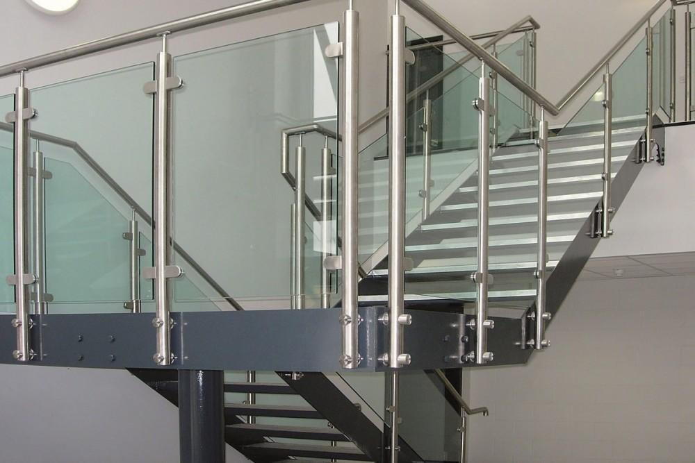 Cozy Design Modern Steel Glass Staircase Ideas