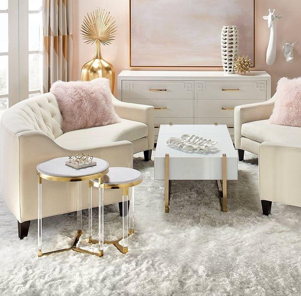 Cozy Feminine Living Rooms Decoration Ideas Decoralink