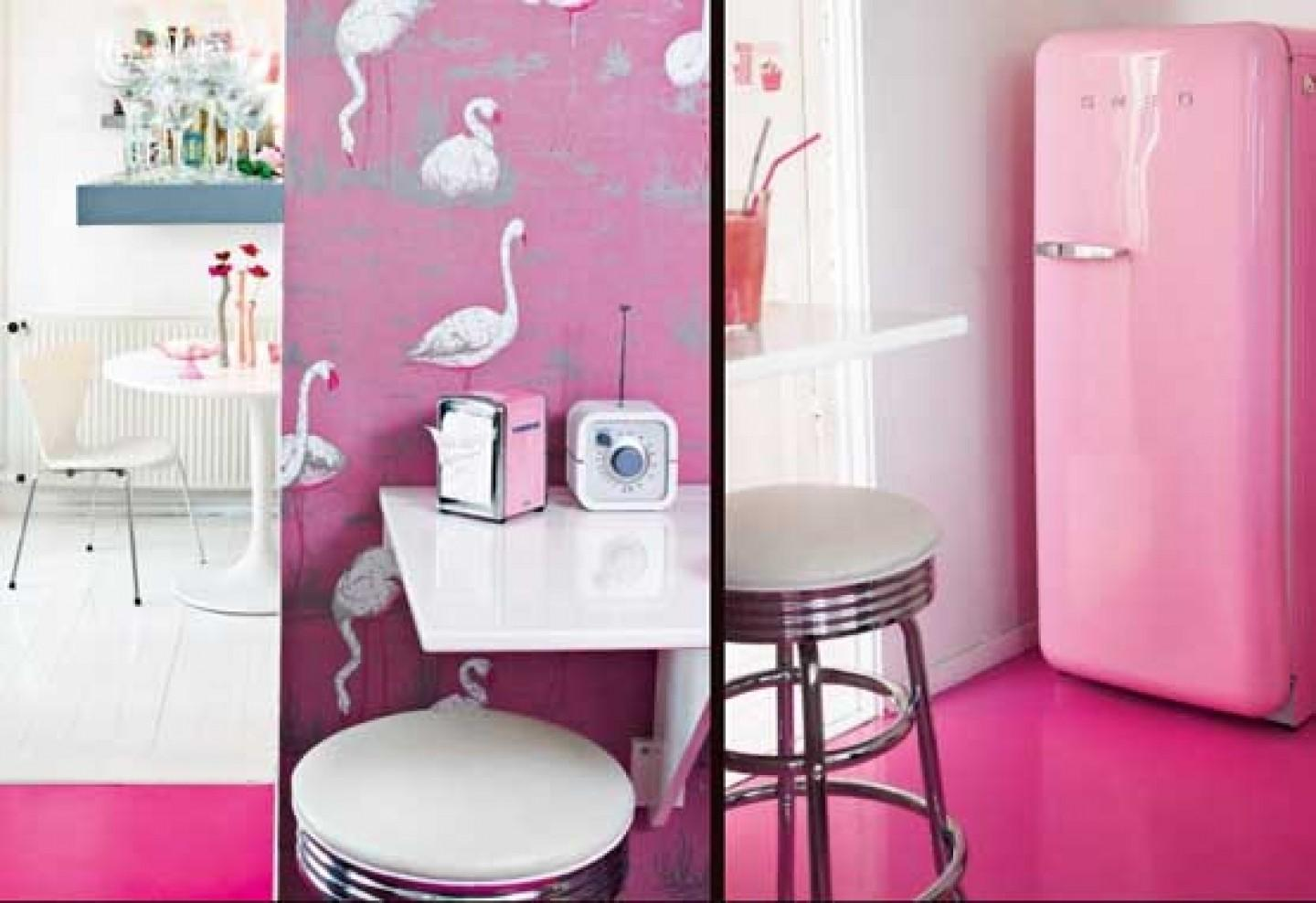 Cozy Pink Apartment Decoration Interior Design Decorating