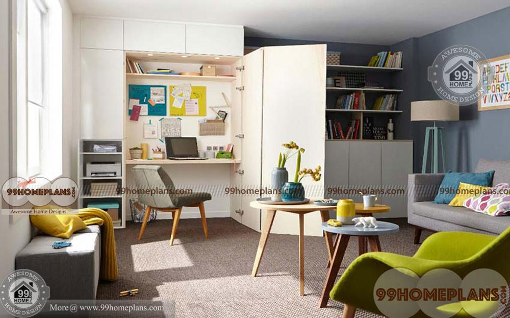 Cozy Reading Corner New Modern Small Cheerful Space