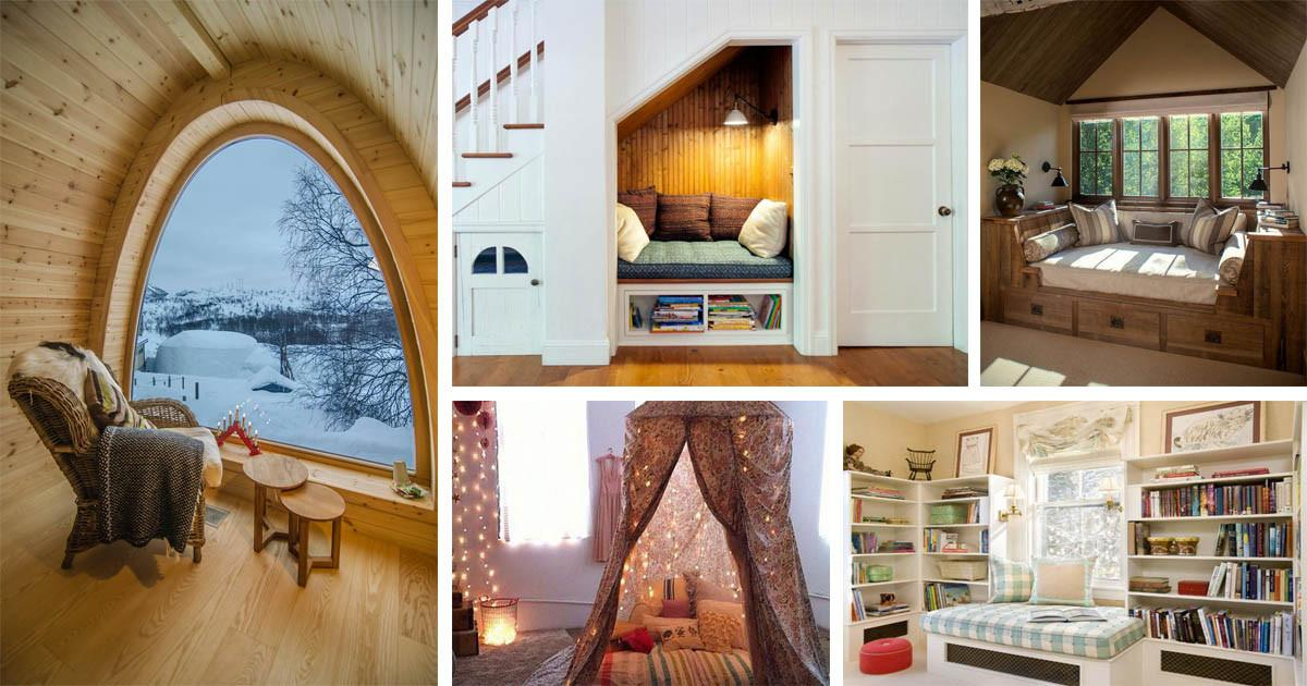 Cozy Reading Nook Ideas Can Relaxing
