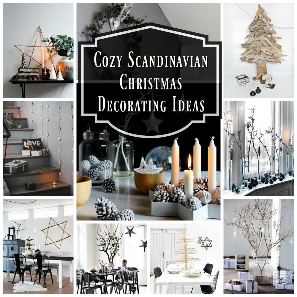 Cozy Scandinavian Christmas Decorations Ideas All
