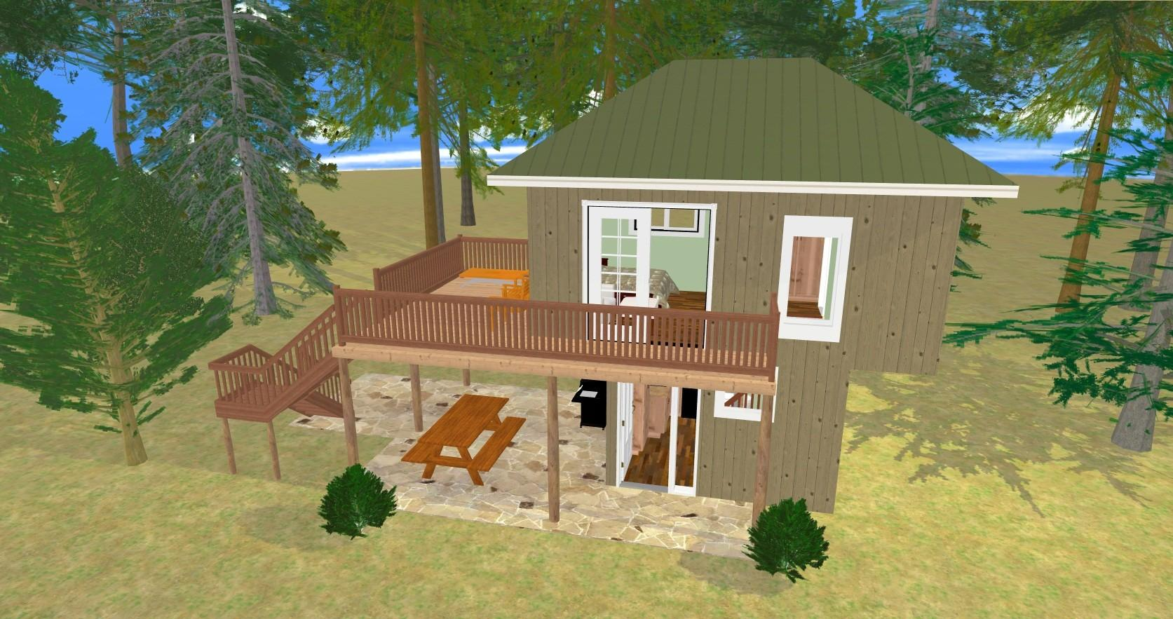 Cozy Small Home Plans Divided Into Collections