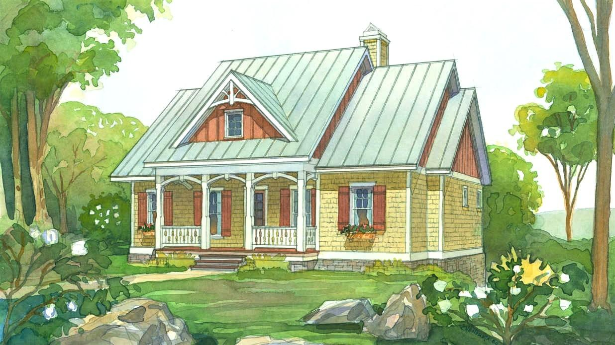 Cozy Small Southern House Plans Porches Jburgh Homes