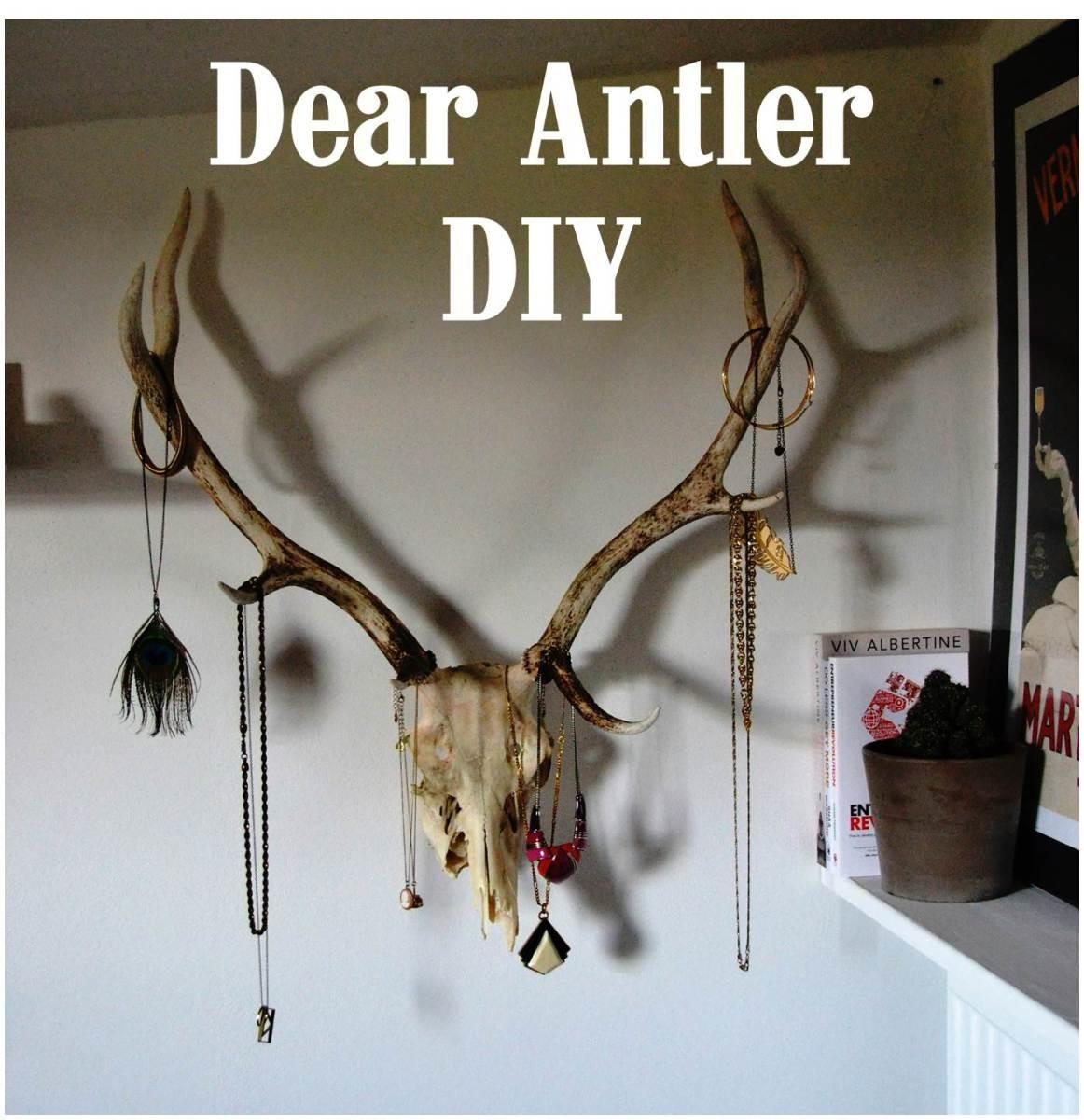 Craft Dear Antler Jewellery Display Never Too Experienced