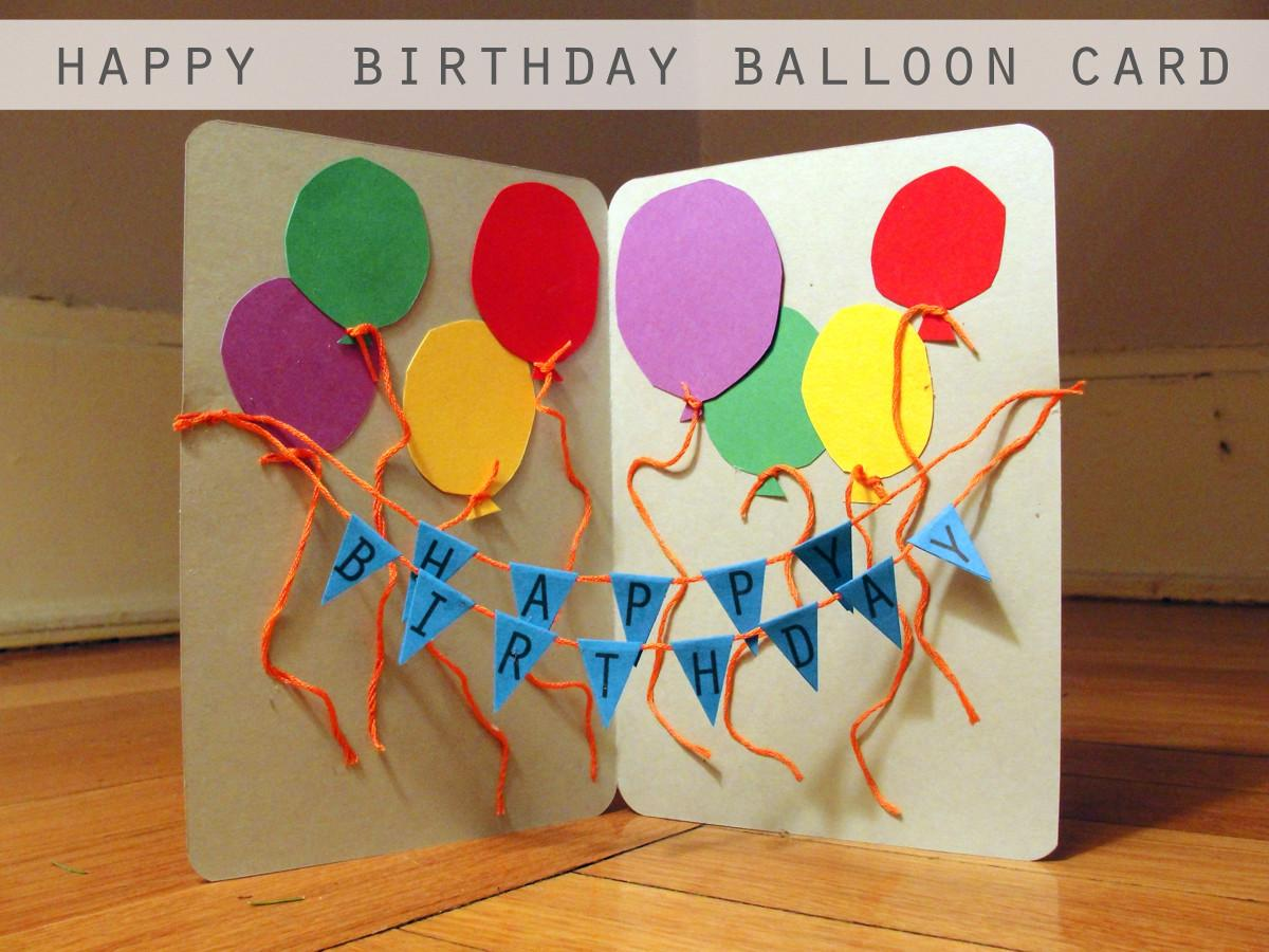 Craft Handmade Birthday Card Good