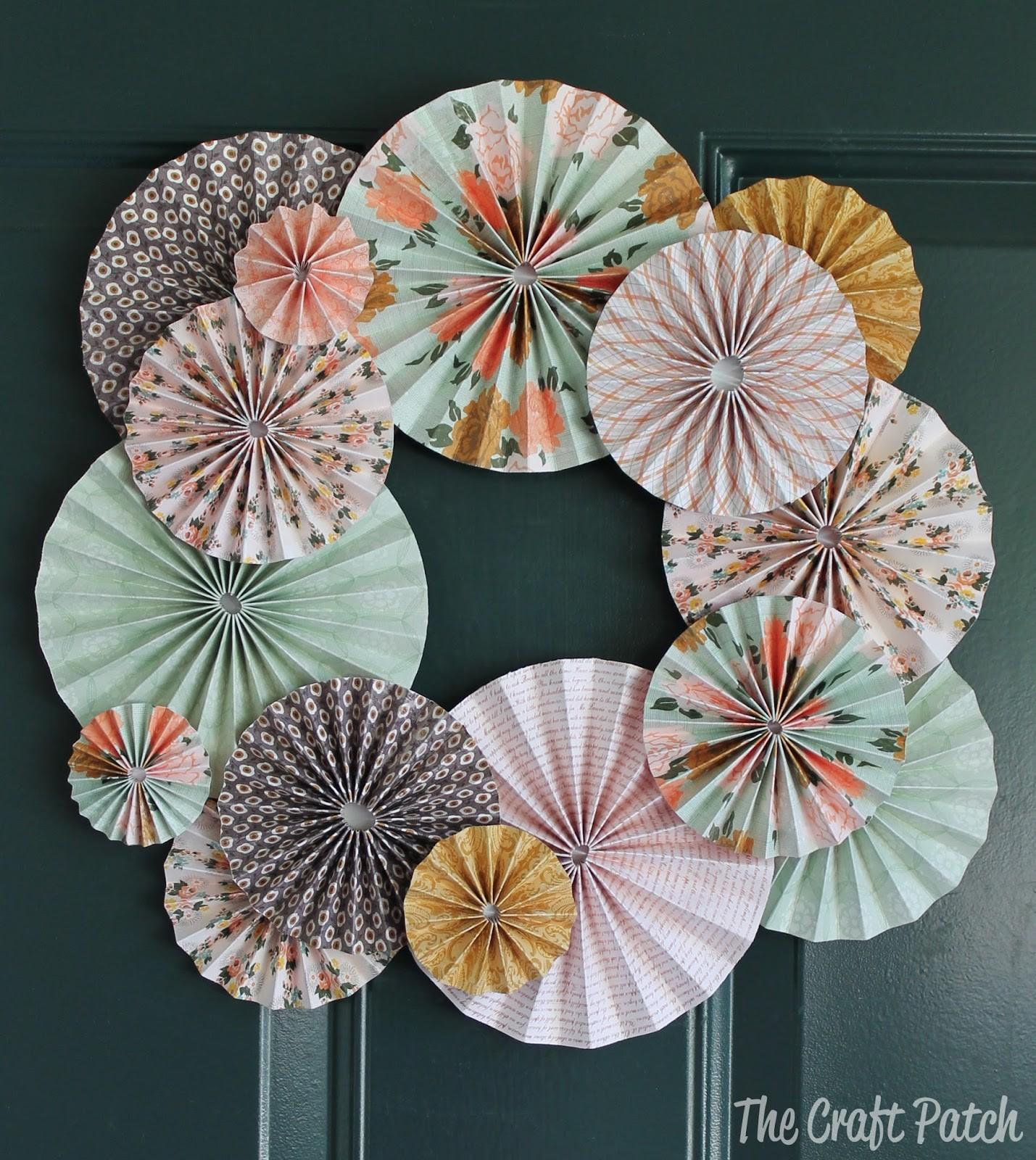Craft Patch Accordion Fold Paper Flowers