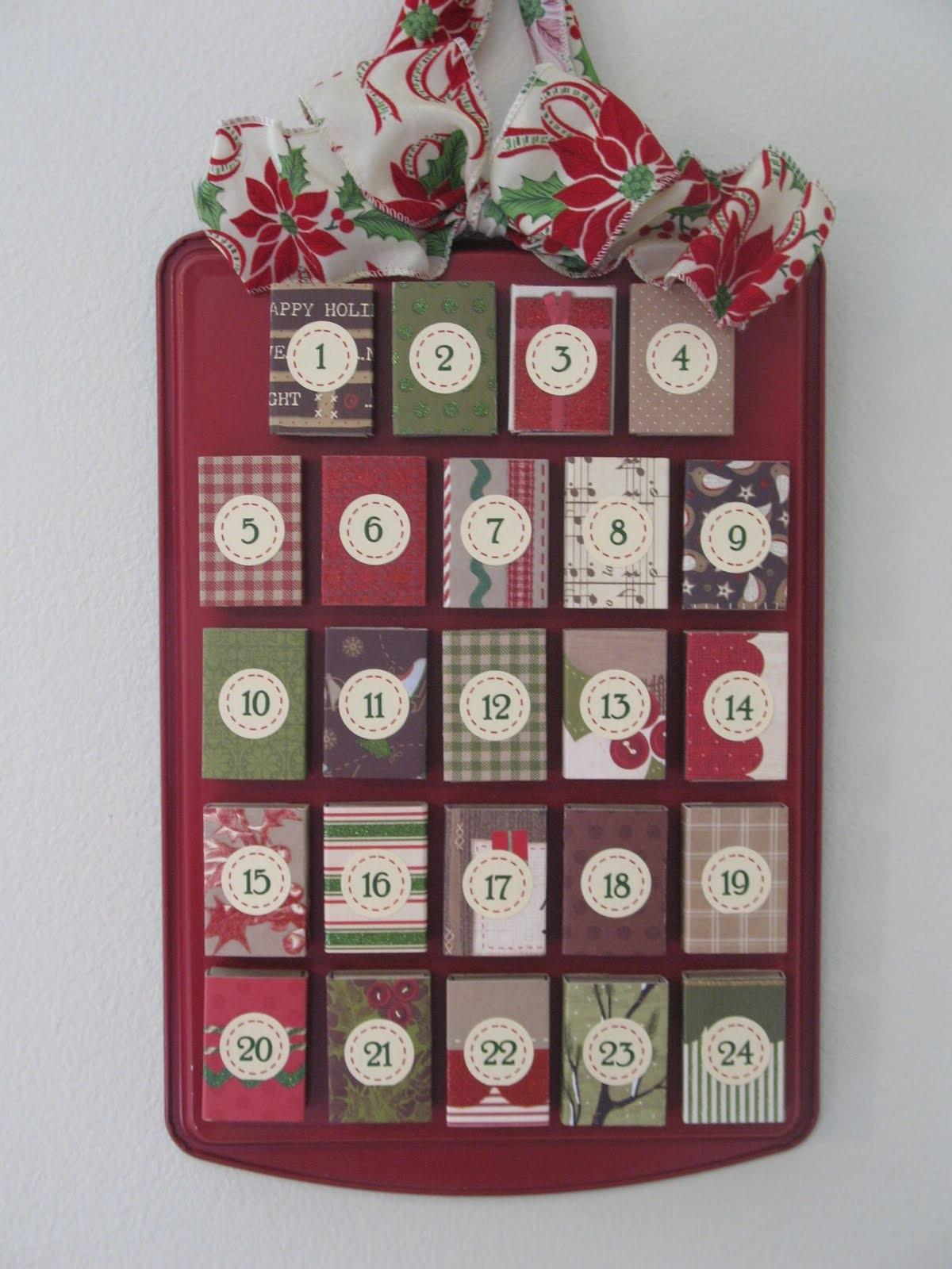 Craft Patch Matchbox Advent Calendar