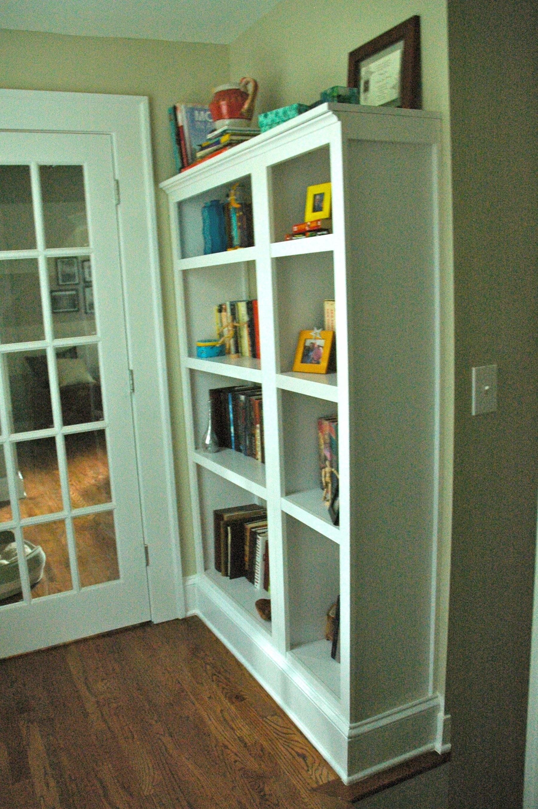 Craft Project Fake Built Bookcase