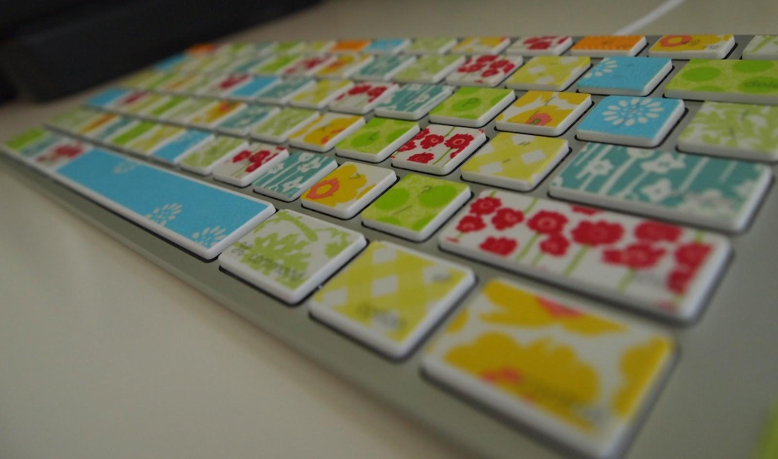 Craft Room Confidential Washi Tape Keyboard
