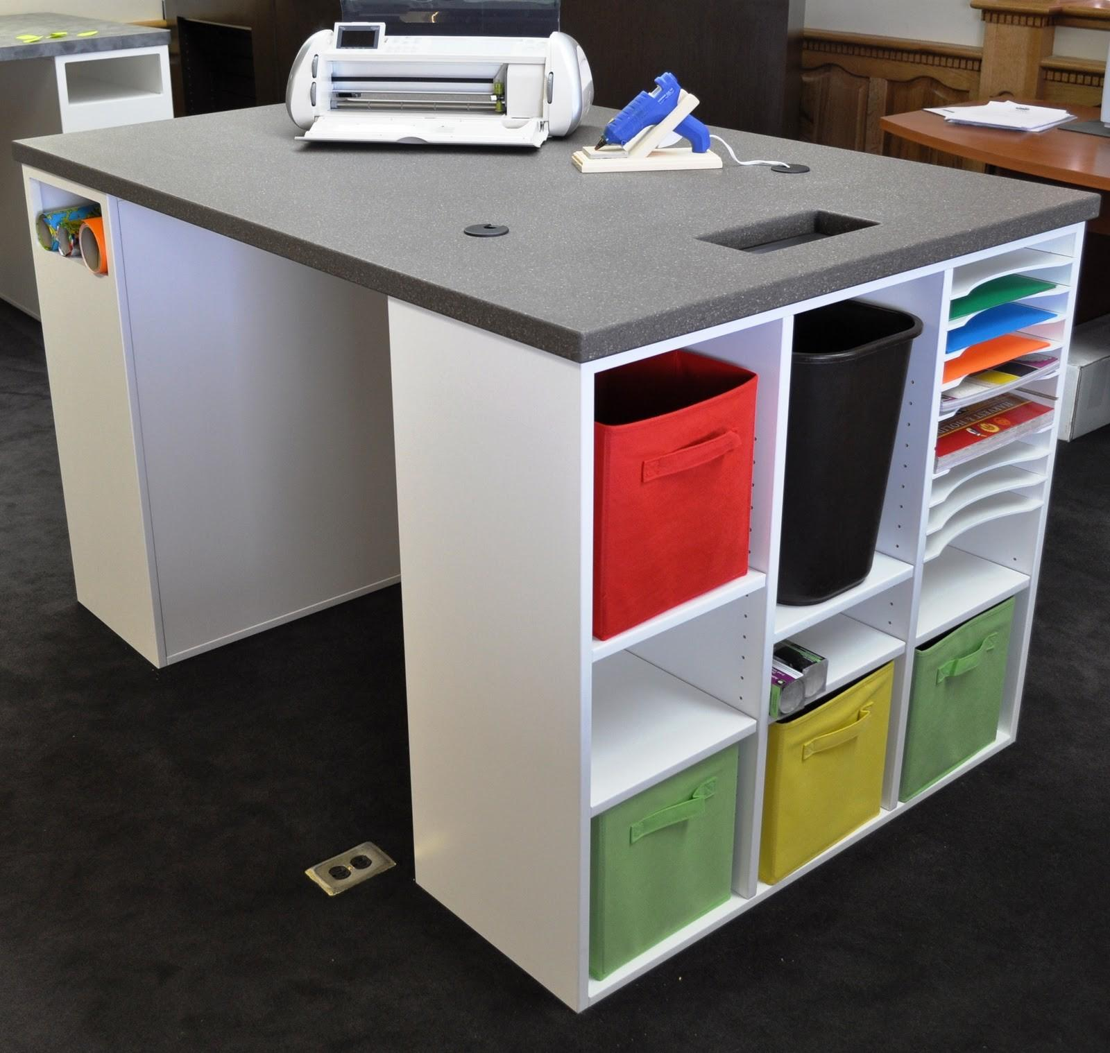 Craft Table Storage Choices Crafters