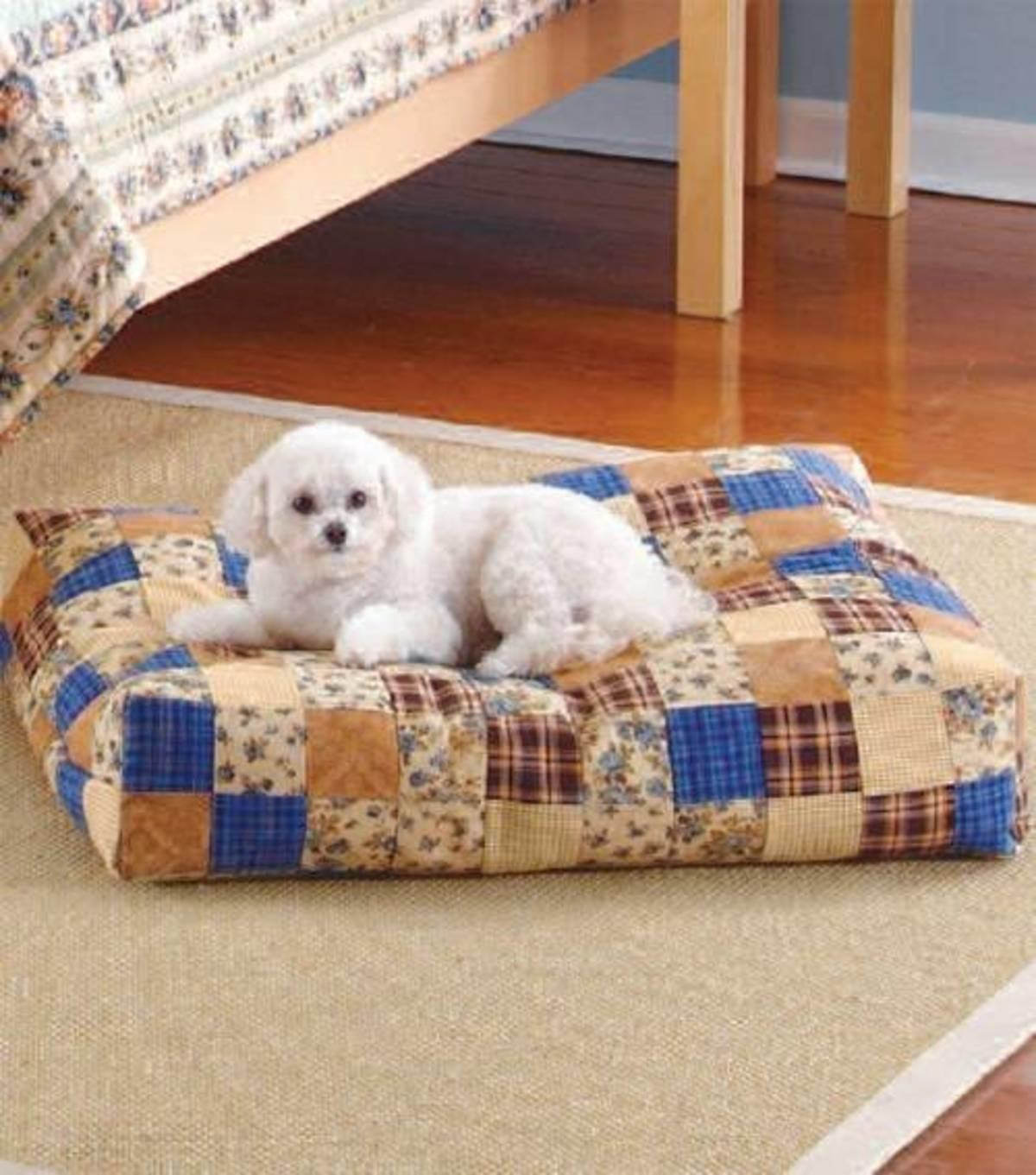 Craftdrawer Crafts Make Bed Your Dog Using