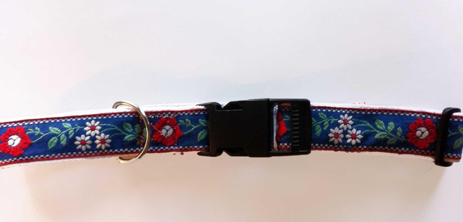 Crafted Home Diy Dog Collar Tutorial