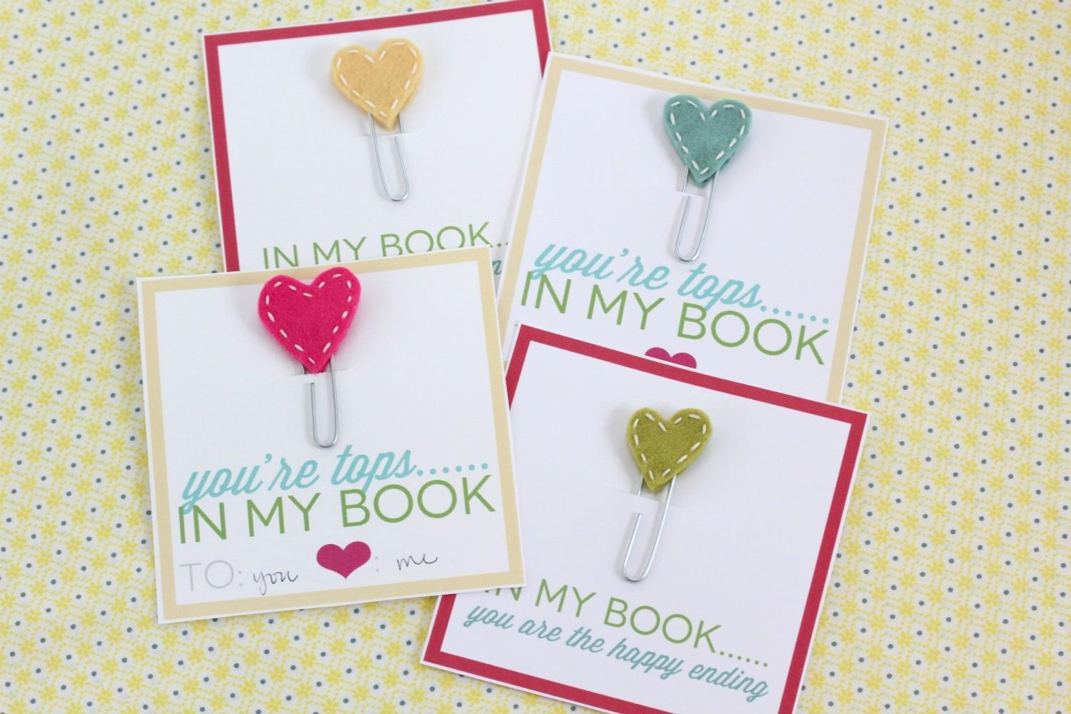 Crafting Budget Diy Stitched Heart Bookmark